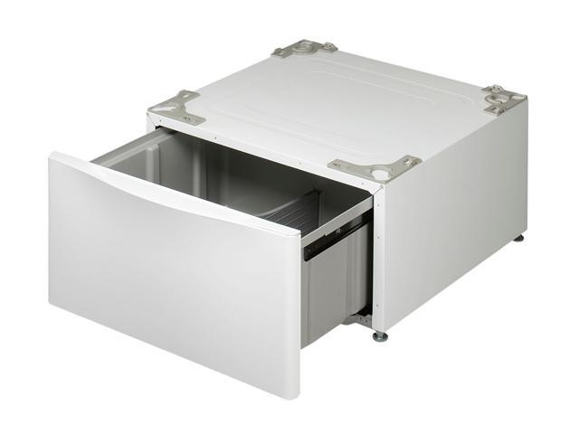 LG WDP4W Laundry Pedestal with Drawer (White) photo