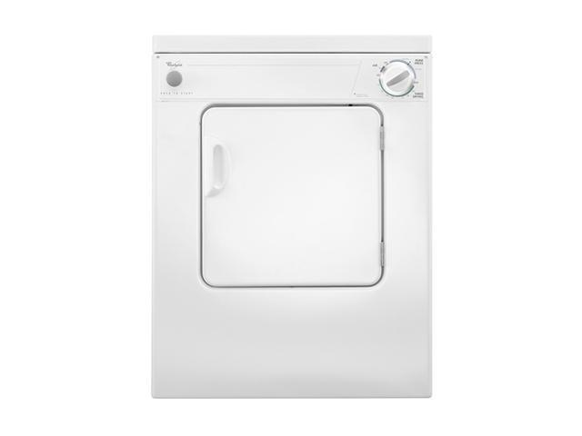 Whirlpool LDR3822PQ White 3.4 cu. ft. Electric Dryer photo