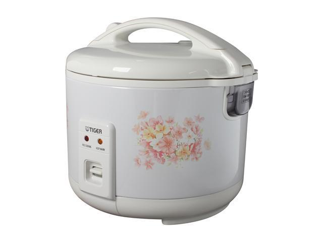 TIGER JNP-1500 White 4 Cups (Uncooked)/8 Cups (Cooked) Electronic Rice Cooker/Warmer Made in Japan photo