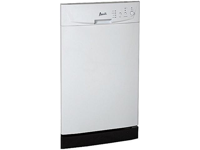 Avanti DW1831D0WE 18' Built In Dishwasher, White White photo