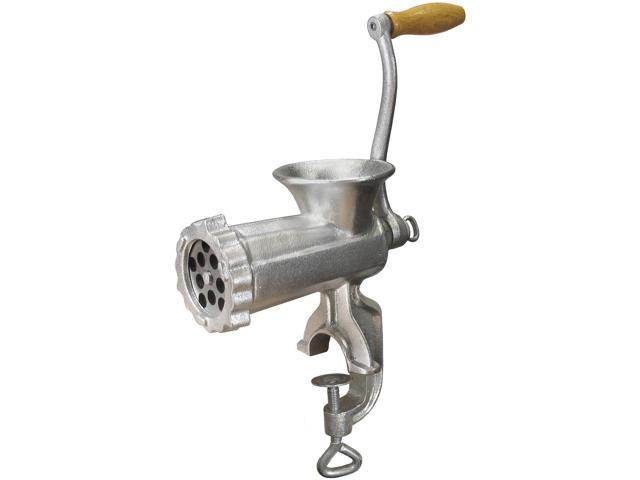 WestonSupply 36-1001-W Stainless steel #10 Manual Meat Grinder (Tinned) photo