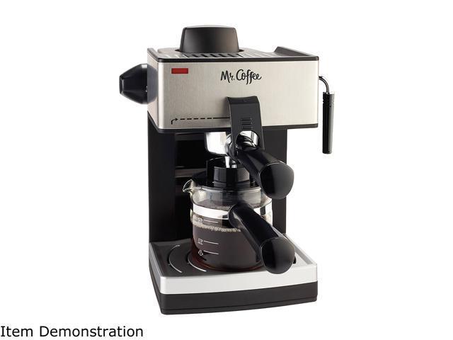 Mr. Coffee ECM160-RB Steam Espresso and Cappuccino Maker photo