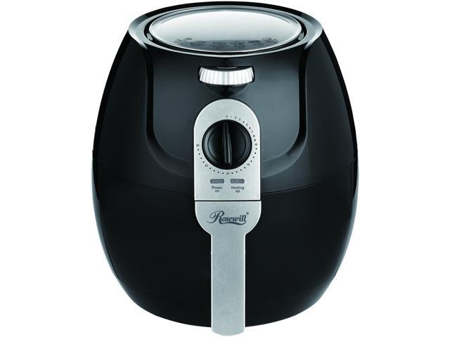 Rosewill Air Fryer 3.3 Qt, Oilless Air Fryer Oven, 1400-watt Power, Timer and Temperature Control Frying w/Low Fat, Oil Free, RHAF-15004 photo