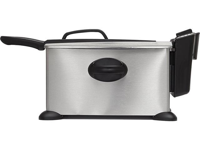 Bella 13401 3.5L Deep Fryer, Lid with Viewing Window photo