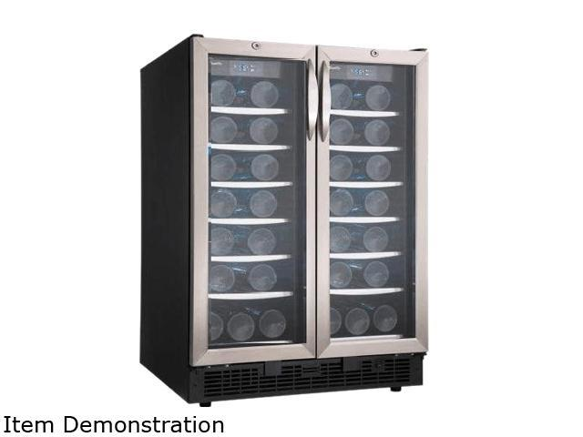 Danby Silhouette DBC2760BLS 5.0 Cu. Ft. Beverage Center, Black/Stainless Steel photo
