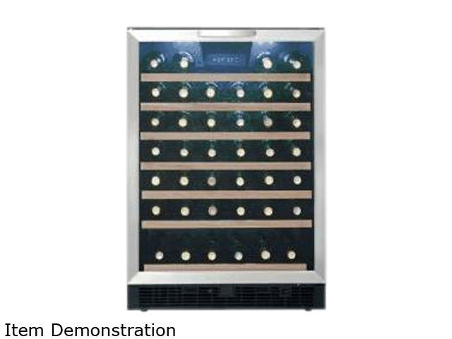 Danby DWC508BLS Designer 50 Bottle Wine Cooler, Black/Stainless Steel photo