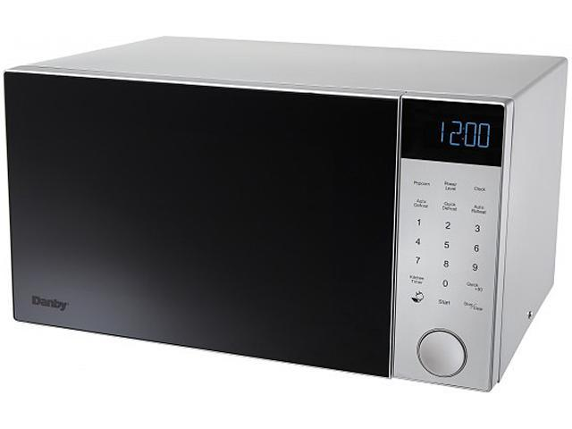 Danby Counter Top Microwave, Nouveau Series, 1.4 cu. ft, 1200 watts, blue LCD DMW14A4SDB photo