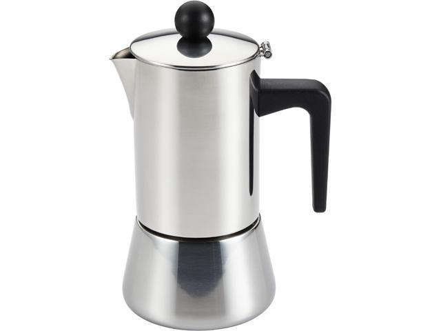 BONJOUR 53916 Stainless steel 4-Cup Stovetop Espresso Maker photo