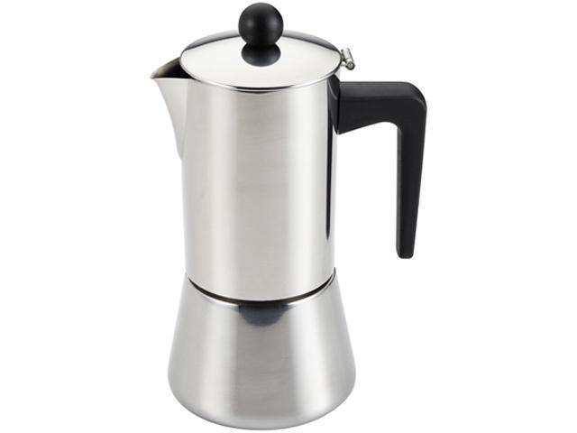 BONJOUR 53917 Stainless steel 6-Cup Stovetop Espresso Maker photo
