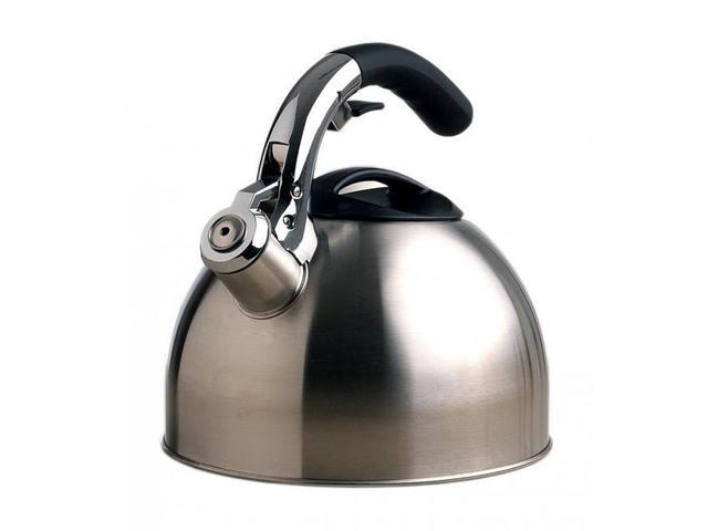 Primula PTK6330 Stainless Steel Whistling Tea Kettle with Soft Grip Handle photo