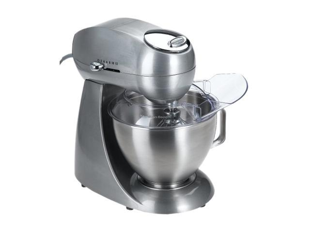 Hamilton Beach 63220 Eclectrics Sterling All-Metal Stand Mixer Silver photo