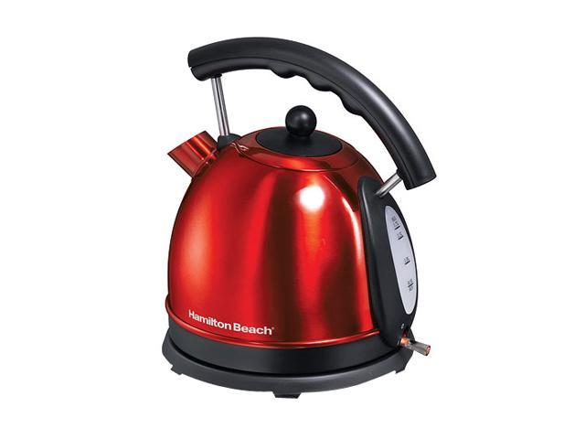 Hamilton Beach 40894 Red Candy Apple Electric Kettle photo