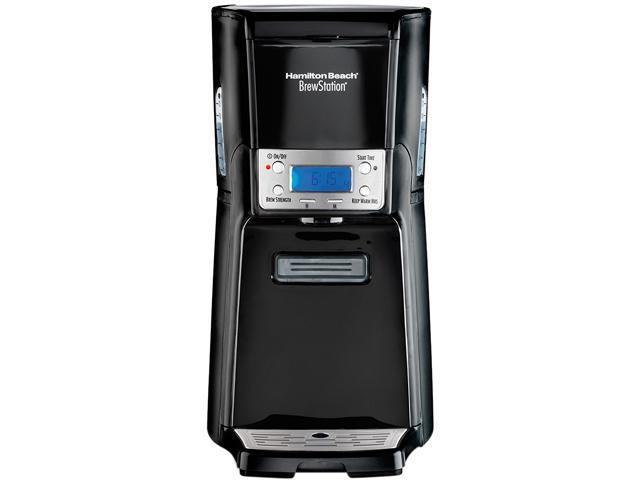 Hamilton Beach 48463 Black/Steel BrewStation Summit 12 Cup Coffeemaker photo