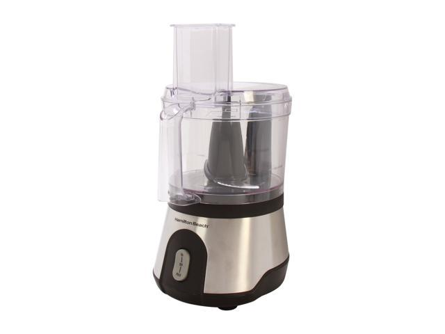 Hamilton Beach 70760 10-Cup Food Processor with Compact Storage, Black & Stainless photo