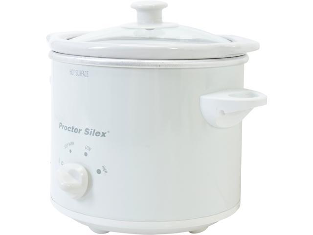 Proctor Silex 33015Y White 1.5 Qt. Slow Cooker photo