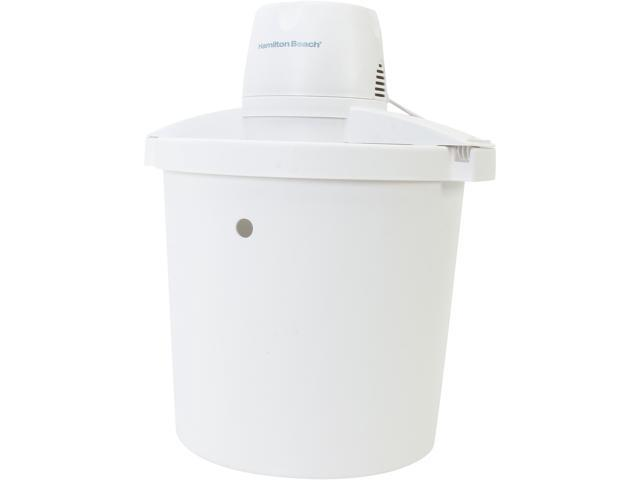 Hamilton Beach 68330R 4 Quart Ice Cream Maker photo