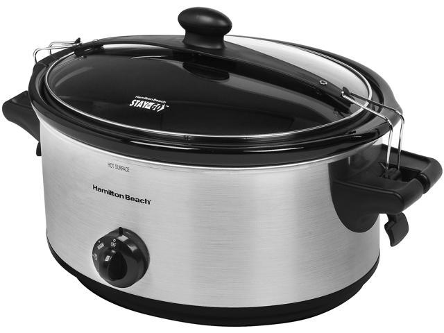 Hamilton Beach 33262 Stay or Go 6 Quart Slow Cooker photo