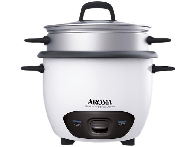 AROMA ARC-747-1NG White 7 Cups (Uncooked)/14 Cups (Cooked) Pot-Style Rice Cooker photo