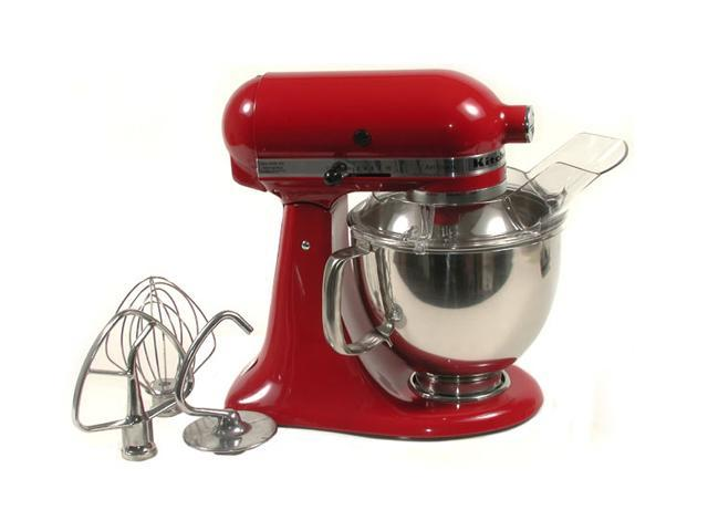 KitchenAid KSM150PSER Artisan Stand Mixer with Pouring Shield, 5 Quarts, Empire Red Empire Red photo
