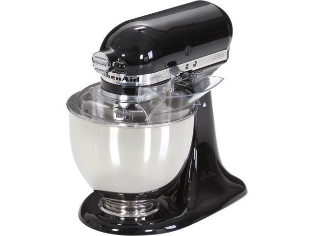 KitchenAid KSM150PSOB Artisan Stand Mixer with Pouring Shield, 5 Quarts, Onyx Black Onyx Black photo