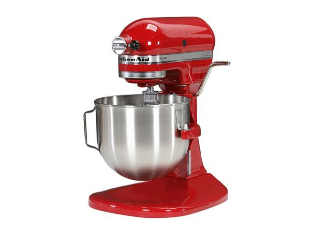 KitchenAid KSM500PSER Pro 500 Bowl-Lift Stand Mixer Empire Red photo