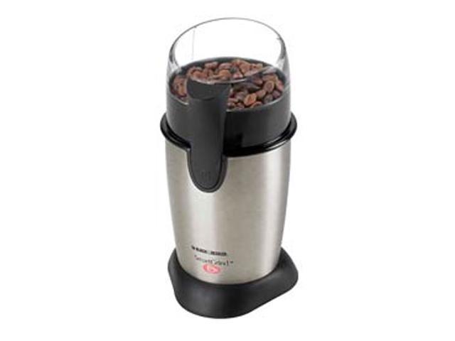 Black & Decker CBG100S Stainless Steel Coffee Bean Grinder photo