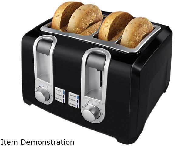 Black & Decker T4569B Black 4 Slice Toaster photo