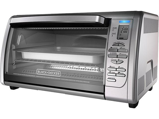 Black & Decker CTO6335S Stainless Steel 6-Slice Convection Oven photo