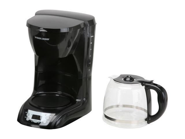Black & Decker DLX1050B Black 12-Cup Programmable Coffee Maker photo