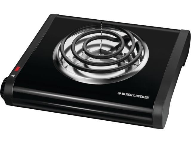 Black & Decker Single Burner Portable Buffet Range SB1001B photo