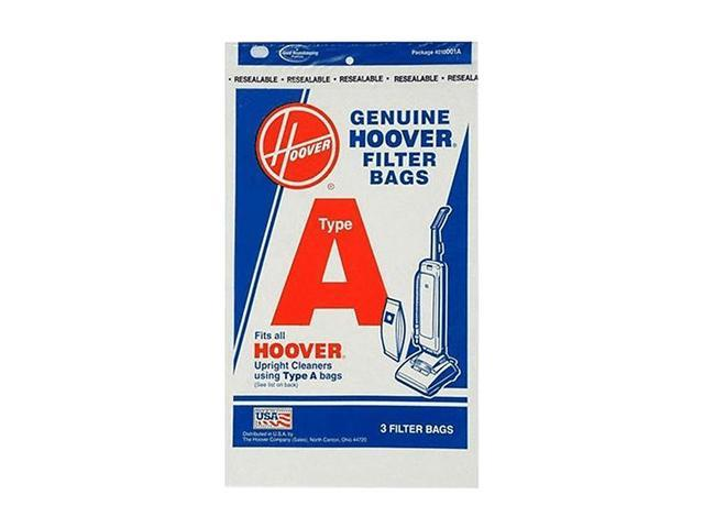 HOOVER 4010001A Type-A Vacuum Cleaner Bags, 3-Pack photo