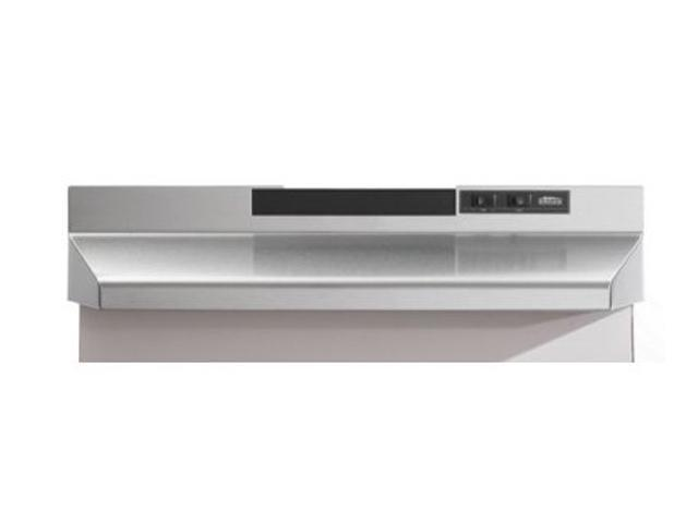 Broan F403604 36' Convertible Range Hood, Stainless Steel photo