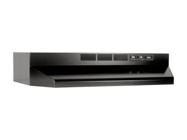Broan 413023 30 In. Black Under Cabinet Range Hood, Non-Ducted photo