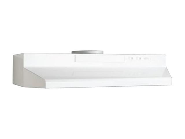 Broan F402411 24' Convertible Range Hood, White-on-White photo