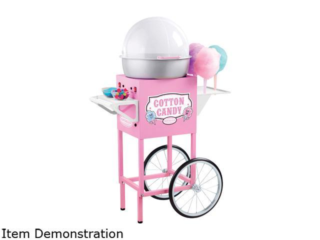 Nostalgia Electrics CCM600 Commercial Cotton Candy Machine, Pink photo