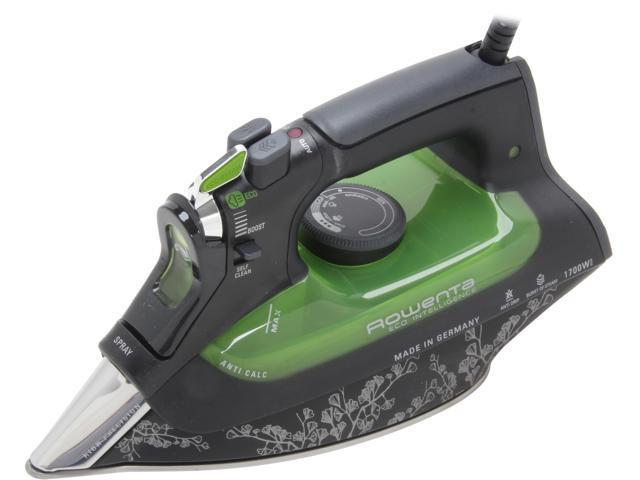Rowenta DW6080 1700W Eco Intelligence Steam Iron with 3D Soleplate photo