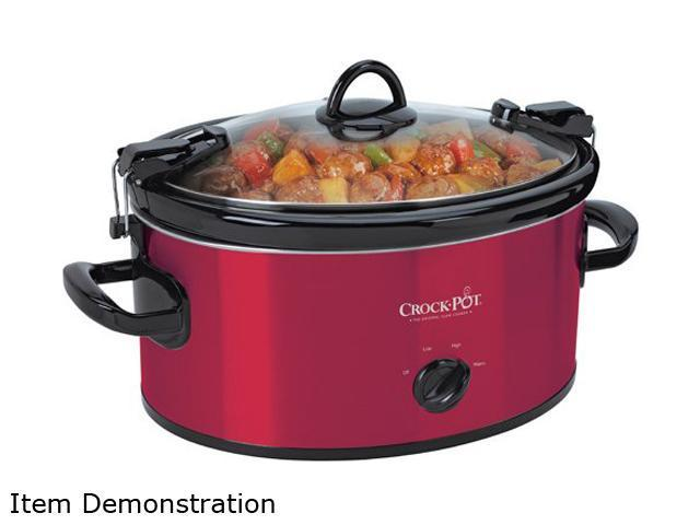CROCK-POT SCCPVL600-R Red Cook & Carry Slow Cooker photo