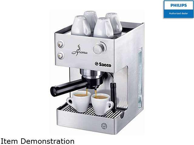 Saeco RI9376/04 Aroma Manual Espresso Machine, Stainless Steel photo
