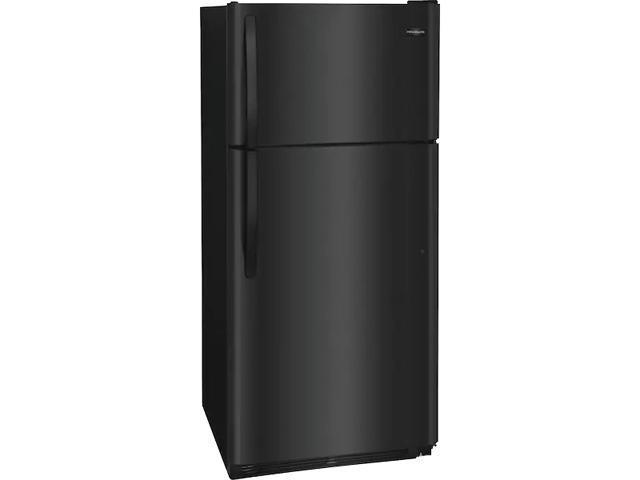 Frigidaire FFTR1821TB 18 Cu. Ft. Top Freezer Refrigerator - Black photo