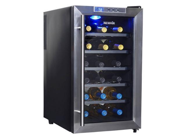 NewAir Thermoelectric 18-Bottle Wine Fridge photo