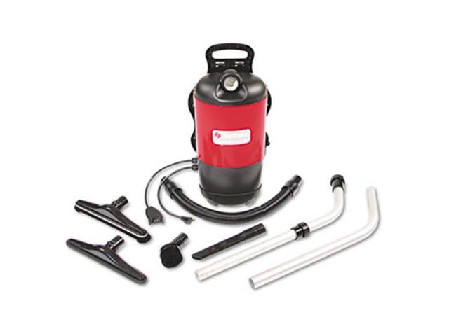 Eureka SC412A Sanitaire Commercial Backpack Vacuum 11.5lbs Red photo