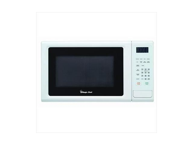 MAGIC CHEF MCM1110W 1.1 Cubic-ft, 1,000-Watt Microwave with Digital Touch (White) photo