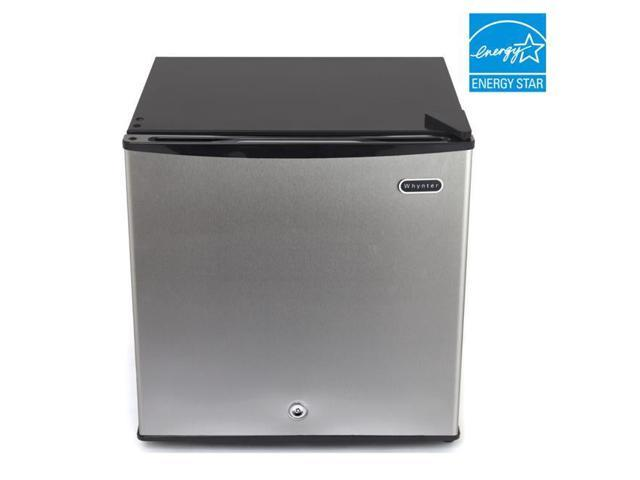 Whynter 1.1 cu. ft. Energy Star Upright Freezer with Lock - Stainless Steel photo