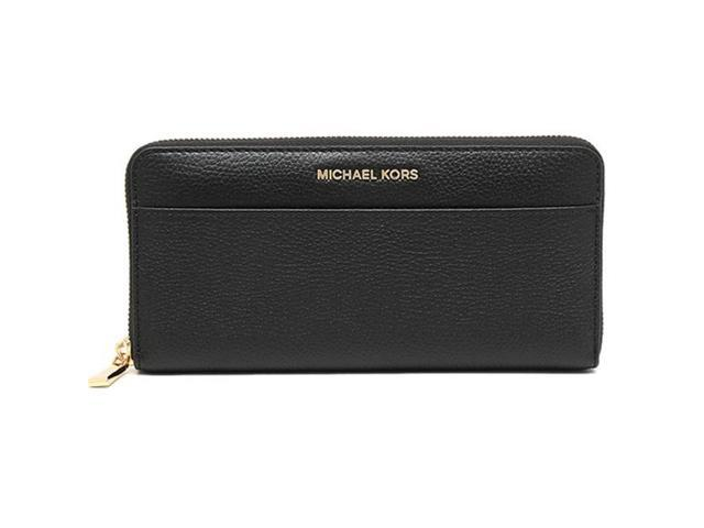 7185ee1422db Michael Kors Wallet Zip Around Continental Mercer - Wallet - Black -  32S7GM9E9L-001