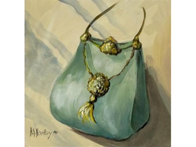 Purse Green Poster Print by Harriet Nordby (12 x 12) (Arts & Entertainment Artwork) photo