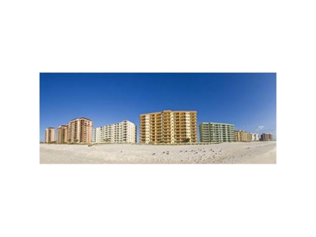 Panoramic Images PPI140628L Beachfront buildings on Gulf Of Mexico Orange Beach Baldwin County Alabama USA Poster Print by Panoramic Images. (Arts & Entertainment Artwork) photo