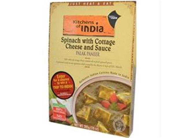 Kitchens Of India B27812 Kitchens Of India Palak Paneer Spinach With Cottage Cheese And Sauce -6x10oz photo