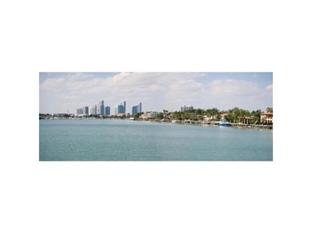 Panoramic Images PPI147114L Buildings at the waterfront Miami Florida USA Poster Print by Panoramic Images - 36 x 12 (Arts & Entertainment Artwork) photo