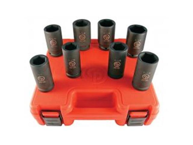 Chicago Pneumatic Tool CPSS6008D Socket Set 0.75 in. Drive Set - 8 Piece photo