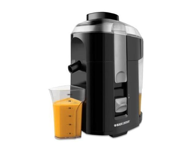 Black & Decker JE2200B Juice Extractor, Black photo